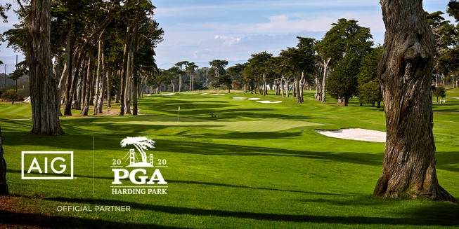 Harding Park golf course with